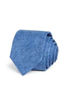 Hugo Textured Melange Solid Skinny Tie
