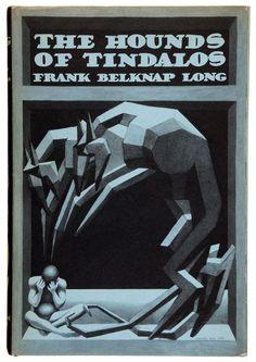 Hannes Bok - Frank Belknap Long. The Hounds of Tindalos. Arkham House, 1946