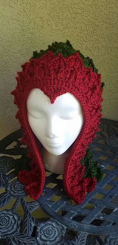 Ravelry: Dragon Hood pattern by Cynthia L. Green - purchased pattern