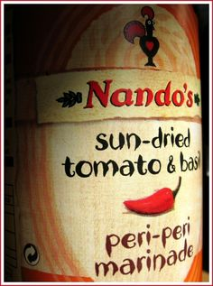 Nando's peri-peri is delicious - thanks to innovative Portuguese South Africans for this incredible brand and franchise!