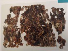 Oseberg textile Fragment 5 Foto E. Vikings, Textiles, Meat, Food, The Vikings, Essen, Meals, Fabrics, Yemek