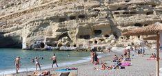 Griechenland-Kreta-Matala Waterfalls, Beaches, Travelling, Outdoor, Outdoors, Sands, Outdoor Games, The Great Outdoors, The Beach