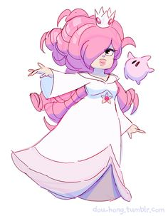 dou-hong:  ROSE-alina   Girby | Peritu | Princess Sapphire and her Roombas | Roomba| Rosealina | Stevio + Connuigi | Cat-Stevio | Spiny Weep Teeps ||| bonus sketches