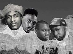 Rakim, Kane, KRS and Kool G. Rap