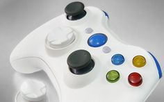 """This is our """"White Silk"""" Xbox 360 Modded Controller. All modes are adjustable rapid fire meaning you can choose any speed from 1 to 30 shots per second, depending on specific game restrictions. Since you have 6 classes to choose from you can set each class up to match all of your custom classes in your favorite COD game. You will never have to adjust the controller again! All RapidModz.com controllers are 100% undetectable in all Games."""