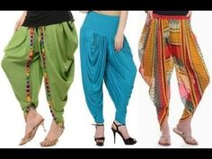 In this video i will show you How to make Latest Tulip shalwar cutting and stitching in hindi Salwar Designs, Kurti Designs Party Wear, Dress Neck Designs, Blouse Designs, Salwar Pants, Patiala Salwar, Fashion Show Dresses, Tulip Pants, Salwar Pattern