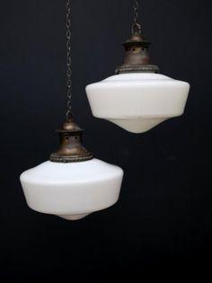 opaline pendant lights