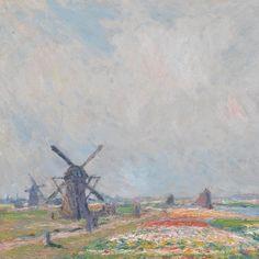 Tulip Fields near The Hague - Van Gogh Museum