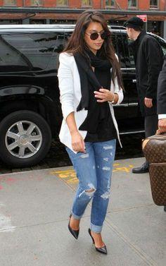 Kim Kardashian Fashion and Style - Kim Kardashian Dress, Clothes, Hairstyle