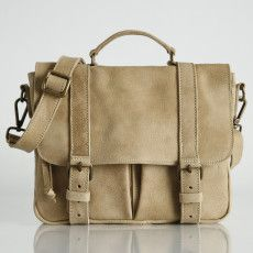 Roots leather satchel $198