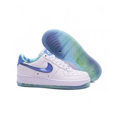 Salg Billig Dame Nike Air Force 1 Lav Hvid Blå Sko I Nike Air Force 1 Dame på butikken Air Force Ones, Air Force 1, Nike Air Force, Air Force Sneakers, Sneakers Nike, Shoes, Design, Nike Tennis, Zapatos