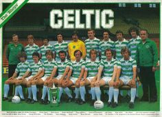 MATCH football magazine team / squad A4 picture Celtic 1979-80 (The Bhoys)