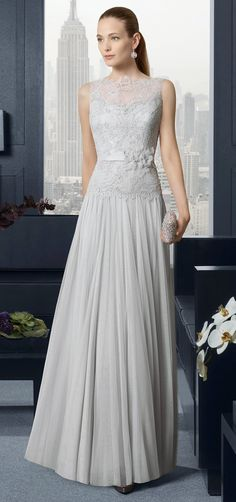 Vestidos para bodas formales   Colección Rosa Clara