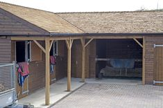 L Shape Stables with Tack Room and Hay Store