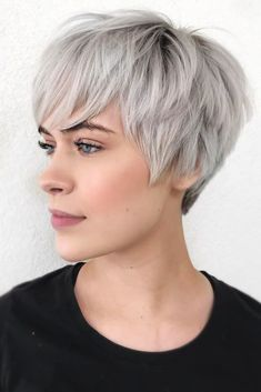Pixies For Oval Face Shape #shorthair #faceshapehairstyles ❤ Those who think that there is nothing that can hide their flaws should discover these short haircuts for oval faces right now! We will show you how you can style your hair and feel confident with your face shape. ❤ #lovehairstyles #hair #hairstyles