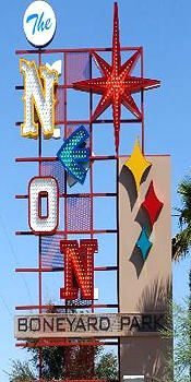 """tripYIP.com - """"Fun Things To Do!"""" loves  LAS VEGAS, NV:  THE NEON MUSEUM  Preserving the history of Las  Vegas' iconic neon art form."""