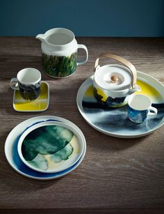Buy Marimekko Weather Diary Platter, from our Serving Plates & Bowls range at John Lewis & Partners. Free Delivery on orders over Buffet, Kitchenware, Tableware, Serveware, China Art, Swedish Design, Dinnerware, Coffee Cups, Healing