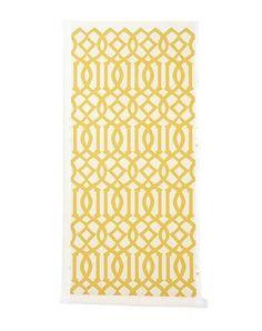 imperial trellis yellow