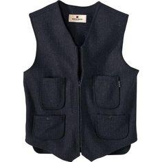 Woolrich Mens Utility Wool Vest Image