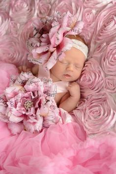 Cutie all dressed in pink. How adorable!