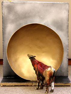 Relentless Ruler - 08, P. Gnana, Bronze, 50 x 61 x 20 cm, 2012