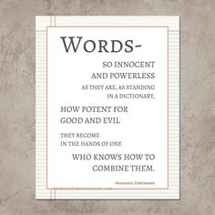 Writer quote words typography print by theartofobservation on Etsy, $12.00