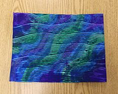 Paste Paper Projects - great textured paper created with papier maché paste