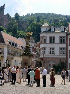 a wedding at the Town Hall in Heidelberg