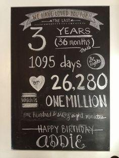 3rd birthday door