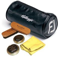Search Brands : FOOTJOY Corporate Gifts : FootJoy Shoe Care Kit with Embroidery : Corporate Golf Gifts, Promotional Golf Items, Logo Golf Balls Golf Shoe Bag, Golf Shoes, Golf Gifts, Corporate Gifts, Brushes, Sunglasses Case, Presentation, Polish, Touch