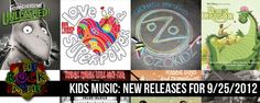 Kids & Family Music: New Releases for September 25, 2012