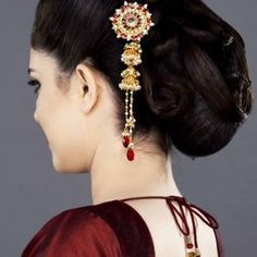 """Juda, bun or updo, names are many but style is one. Upto is messy andRead More """"Indian Juda Hairstyles For Women"""" Updo Hairstyles Tutorials, Braided Bun Hairstyles, Wedding Hairstyles For Long Hair, Easy Hairstyle, South Indian Wedding Hairstyles, Wedding Guest Hairstyles, Indian Hairstyles, Long Hair On Top, Braids For Long Hair"""