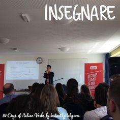 100 Days of Italian Verbs Project on InstantlyItaly.com