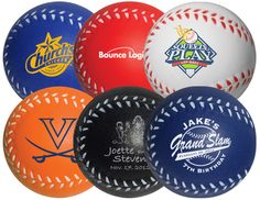 Stress Baseball available in six (6) different colors - MiniSportsBalls.com - - Great Wedding and Party Favors