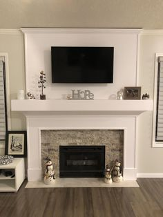 Have any of you got a Kitchen chimney breast ideas in your kitchen and how have . - Have any of you got a Kitchen chimney breast ideas in your kitchen and how have you worked your cab - Fireplace Redo, Fireplace Remodel, Living Room With Fireplace, Fireplace Design, Fireplace Ideas, Tv Over Fireplace, Fireplace Mantels, Renovate Fireplace, Tile Around Fireplace