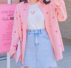 Source by kawaii Pastel Outfit, Pink Outfits, Cute Casual Outfits, Pretty Outfits, Harajuku Fashion, Kawaii Fashion, Cute Fashion, Fashion Outfits, Fashion Blogs