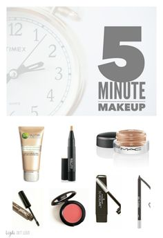 Beautiful makeup in only 5 minutes!