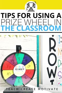 Using a prize wheel in my elementary classroom is one of my favorite teacher hacks! I bought this prize wheel off of Amazon, and it's one of my best purchases ever! I use the prize wheel for classroom management, assigning class work, and more! Classroom Management Tips, Behavior Management, Prize Wheel, My Favourite Teacher, Call And Response, Classroom Community, Educational Games, Teacher Hacks, Second Grade