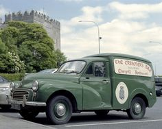 Morris Minor Van. Sold fish from a similar one for two years until girl friend wrote off.... Silly ❤