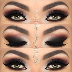 My oh my that's a beautiful smoky eye