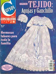 Crochet Placemats, Christening Gowns, Filet Crochet, Vintage Crochet, Baby Dress, Little Ones, Crochet Baby, Crochet Patterns, Embroidery