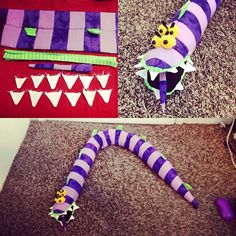 My homemade Beetlejuice sandworm