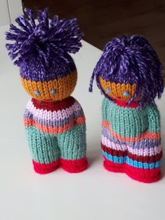Knitted Doll Patterns, Christmas Knitting Patterns, Knitted Dolls, Knitting Patterns Free, Knitting For Charity, Knitting For Kids, Knitting Projects, Baby Knitting, Knit Or Crochet