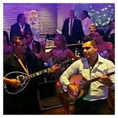 Costas Sakellaris and Tommy Tsonis entertaining @ #TheGrandRoxy