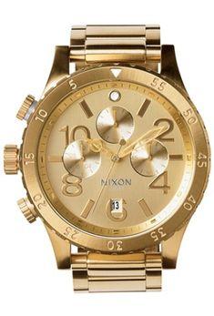 beautiful gold Nixon watch   juwelier-haeger.de
