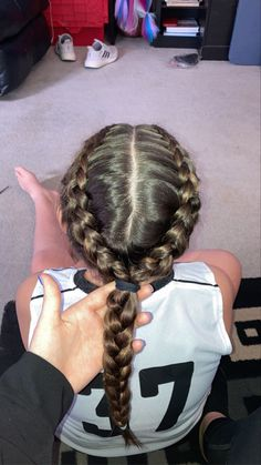 Track Hairstyles, Sporty Hairstyles, Athletic Hairstyles, Cute Braided Hairstyles, Classy Hairstyles, Dance Hairstyles, Workout Hairstyles, Pretty Hairstyles, Hairstyles Videos