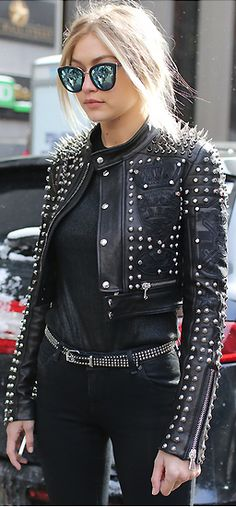 Gigi Hadid Street Style NY Fashion Week