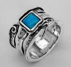 Opal Ring Handmade Natural Gemstone Jewelry Sterling Silver Jewelry