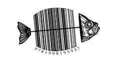Why aren't all barcodes reflective of the brand? Good Red Herring - jacket by Steve Simpson, via Behance