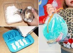 Vissen maken van gips.   Je kunt er zelf een kom of zak bij knutselen. Leuk als cadeautje. Kan ook met andere vormpjes!